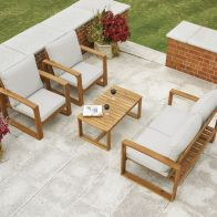 See more information about the Rimini Garden Sofa Set Natural