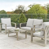 See more information about the Rimini Garden Sofa Set Grey