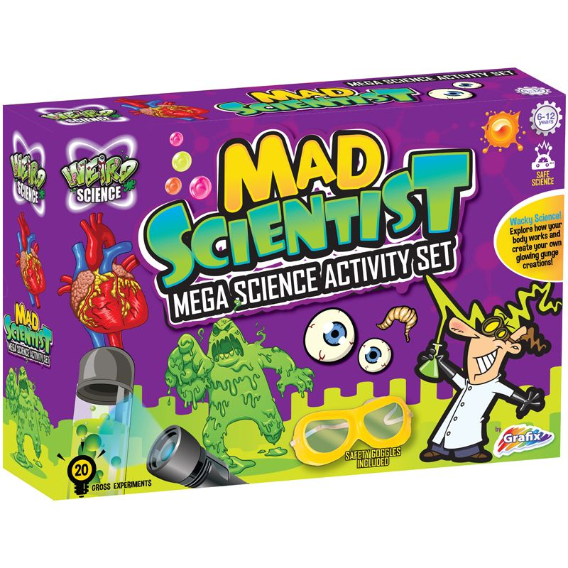 Mega Science 20 Experiments Kit