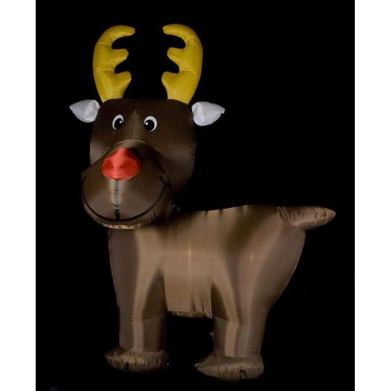 300cm (10ft) Inflatable Reindeer