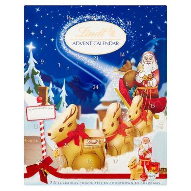 Lindt Reindeers Advent Calendar 160g