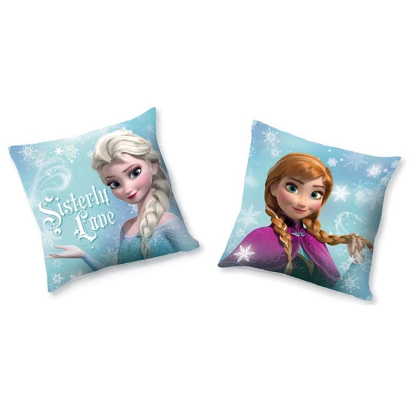 Disney Frozen Anna & Elsa Reversible Cushion