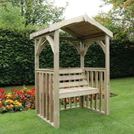 See more information about the Croft Anastasia 2 Seat Garden Arbour