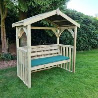 See more information about the Croft Anastasia 3 Seat Garden Arbour