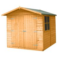 See more information about the Shire Alderney Shiplap Garden Shed 7' x 7'