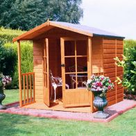 See more information about the Shire Alnwick Garden Summerhouse 7' x 7'