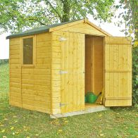 See more information about the Shire Arran Shiplap Garden Shed (6' x 6')