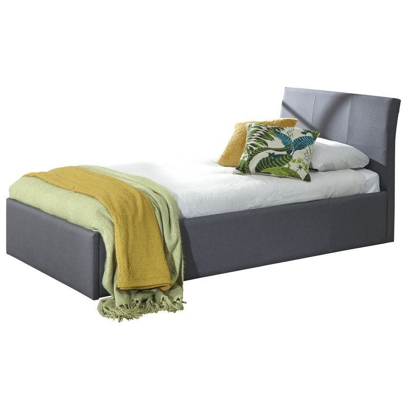 Ascot Single TV Bed Grey