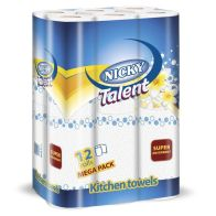 See more information about the Nicky Talent Paper Towels (12 Pack)