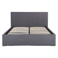See more information about the Ascot Double Ottoman Bed Grey