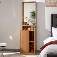 See more information about the Aspen Dark Brown Dressing Table With Mirror