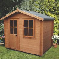 See more information about the Shire Avesbury Garden Log Cabin 19mm (8' x 8')