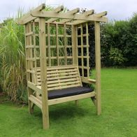 See more information about the Croft Beatrice 2 Seat Garden Arbour