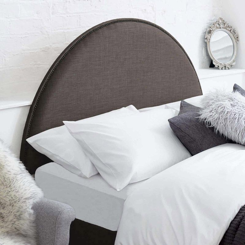 Bakewell Headboard Grey Super King