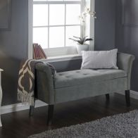 See more information about the Balmoral Window Seat Grey & Chenille With Storage