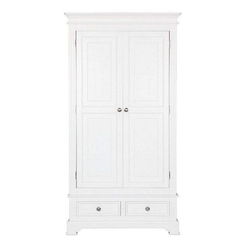 Aspley Pine 2 Door Wardrobe