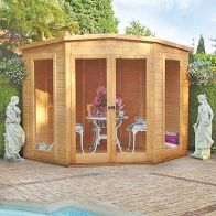 See more information about the Shire Barclay Garden Summerhouse 7' x 7'