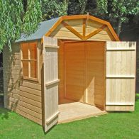 See more information about the Shire Barn Shiplap Garden Shed 7' x 7'