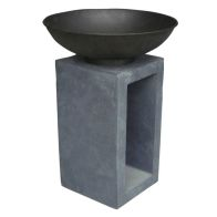 See more information about the Metal Medium Garden Metal Fire Bowl & Hollow Console