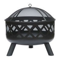 See more information about the Round Garden Fire Pit Black