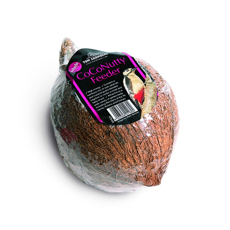 Whole coconutty feeder buy online at qd stores for Whole coconut bird feeders