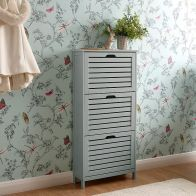 See more information about the Bergen Shoe Storage Grey 3 Door
