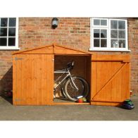 See more information about the Shire Shiplap Apex Garden Bike Storage Unit (6' x 4')