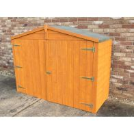 See more information about the Shire Overlap Garden Bike Storage Unit (7' x 3')