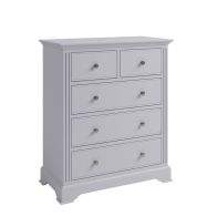 See more information about the Banbury 5 Drawer Chest Grey