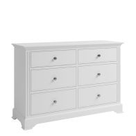 See more information about the Banbury 6 Drawer Chest White