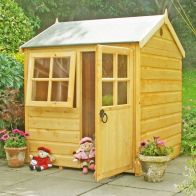 See more information about the Shire Bunny Garden Playhouse (4' x 4')