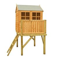 See more information about the Shire Bunny & Platform Garden Playhouse (4' x 4') plus Terrace