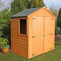 See more information about the Shire Bute Shiplap Apex Garden Shed (4' x 6')