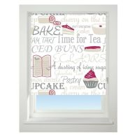 See more information about the Universal 60cm Red Bake Off Blackout Roller Blind
