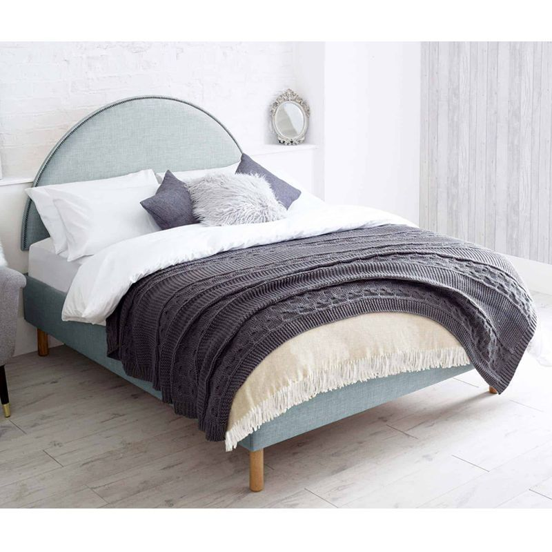 Bakewell Pine Blue 5ft King Size Bed Frame