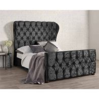 See more information about the Bellagio Double Bed Black Velvet