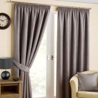 "See more information about the Hamilton McBride Fusion Black Out Curtains (45"" x 54"") - Pewter"
