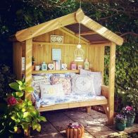 See more information about the Croft Cottage 3 Seat Enclosed Garden Arbour