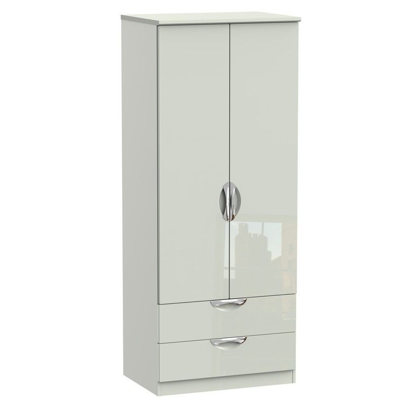 Weybourne Wardrobe Cream 2 Door 2 Drawer