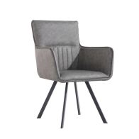 See more information about the Urban Retro Carver Dining Chair Grey