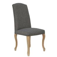 See more information about the Verona Luxury Dining Chair Dark Grey