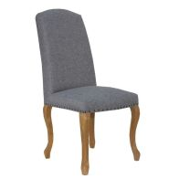See more information about the Verona Luxury Dining Chair Light Grey
