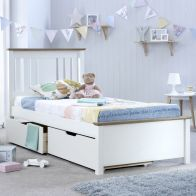 See more information about the Chester Single Storage Bed White