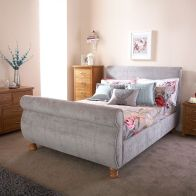 See more information about the Chicago Double Bed Grey Chenille