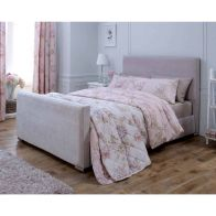 See more information about the Catherine Lansfield Heritage Pine Pink 4ft Queen Size Bed Frame