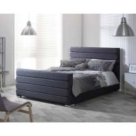 See more information about the Catherine Lansfield Scandi Pine Black 4ft Queen Size Bed Frame