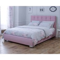 See more information about the Catherine Lansfield Canterbury Classic Pink 4ft Queen Size Bed Frame
