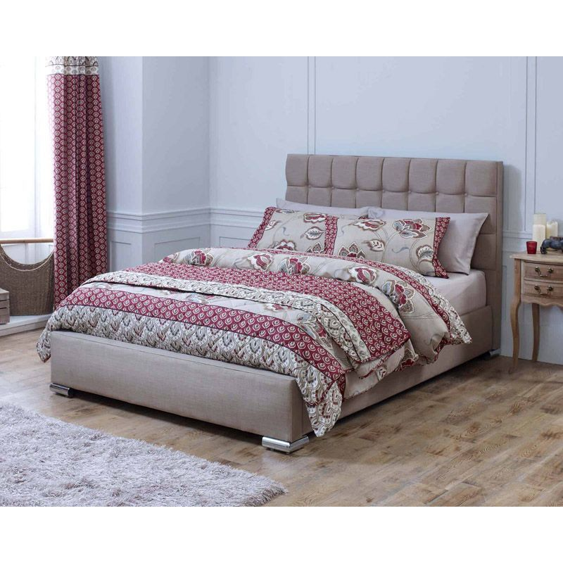 Lansfield Gatsby Classic Pine Brown 6ft Super King Size Bed Frame