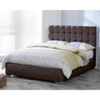 See more information about the Catherine Lansfield Gatsby Classic Pine Brown 4ft Queen Size Bed Frame