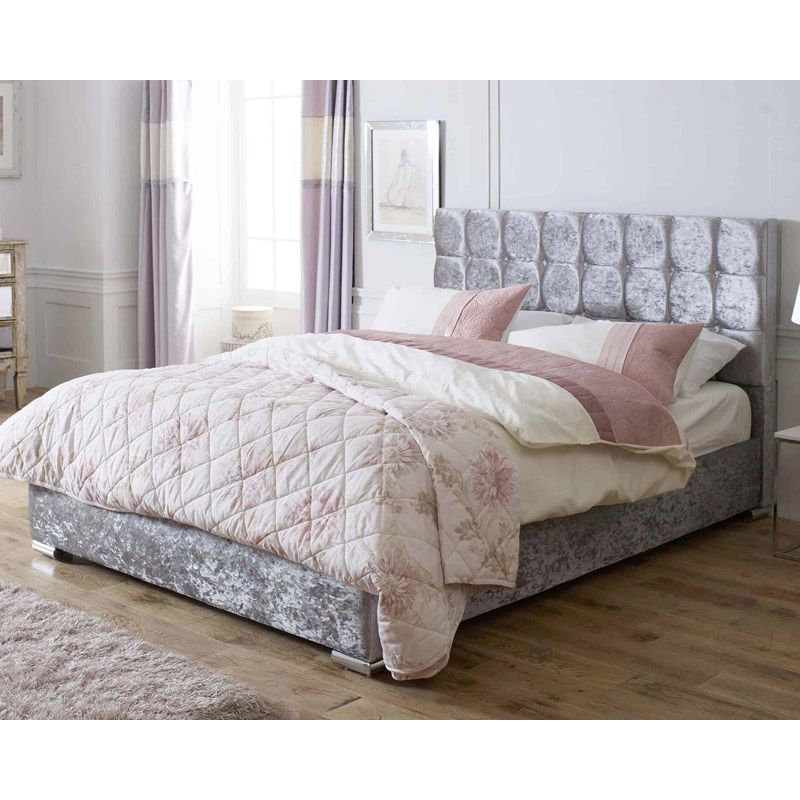 Lansfield Gatsby Classic Pine Silver 5ft King Size Bed Frame